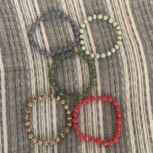 31 Bits Daphine Stacking Bracelet Lot (Set of 5)